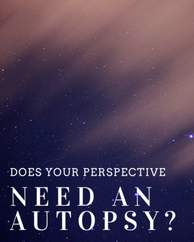 Does Your Perspective Need an Autopsy?