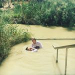 Baptism in the Jordan River photo