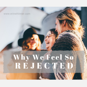 Women feeling rejected